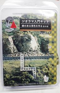 鉄道模型 カトー いつでも送料無料 24-343 基本編 期間限定送料無料 ジオラマ入門キット 緑のある景色を作る