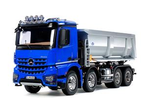 1 14 電動RCビッグトラックシリーズ No.65 NEW メルセデス ベンツ アロクス プロポ付 定番キャンバス ラジコン 4151 ダンプトラック 56365 8×4 タミヤ