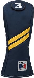 海外輸入 再販ご予約限定送料無料 PH0221-04 オノフ フェアウェイウッド用ヘッドカバー ネイビー Cover ONOFF Head