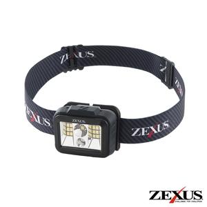 ZX-190 ゼクサス LEDヘッドライト 別売ZR-01使用時560ルーメン 70%OFFアウトレット まとめ買い特価 ZX190ゼクサス ZEXUS ブラック