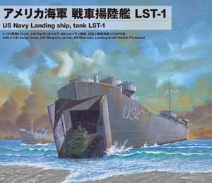再生産 1 人気商品 700 アメリカ海軍 希望者のみラッピング無料 戦車揚陸艦 SW04 LST-1 プラモデル ピットロード
