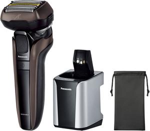 ES-CLV7G ESCLV7G 毎日がバーゲンセール ESLV7G 登場大人気アイテム LV7G ES-CLV7G-T パナソニック メンズシェーバー 電気シェーバー 5枚刃 の限定モデル 茶 自動洗浄器付 ラムダッシュ LAMDASH Panasonic ESCLV7GT ES-LV7G