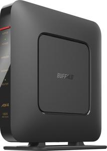 WSR-1800AX4S-BK バッファロー 11ax Wi-Fi [宅送] 6 無線LANルータ 対応 親機 ブラック 高級な 1201+573mbps