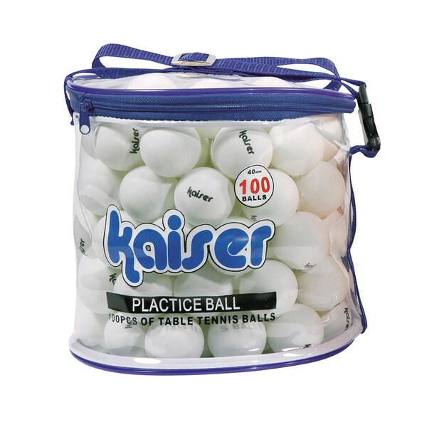 KW-252 カワセ 買物 卓球ボール Kaiser 100Pセット オンラインショッピング カイザー