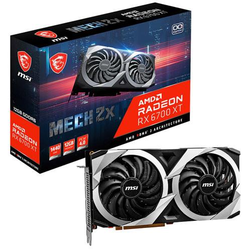 Radeon RX 百貨店 6700 XT MECH 2X 12G PCI Express MSI 4.0対応 OC 100%品質保証! グラフィックスボードRadeon