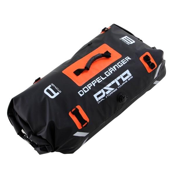 日時指定 DBT217-BK 数量限定アウトレット最安価格 ドッペルギャンガー デュアルストレージツーリングバッグ ブラック 容量60L防水シートバッグ DOPPELGANGER