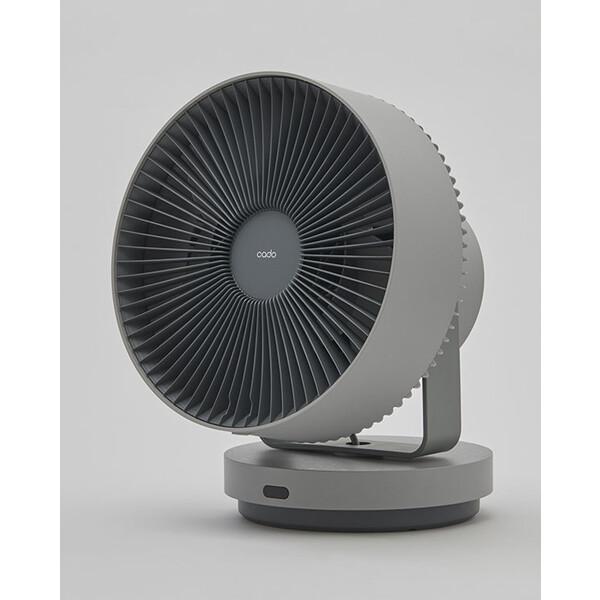 STR-1800-CG カドー 【扇風機】除菌サーキュレーター(クールグレー) cado STREAM1800 [STR1800CG]