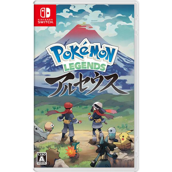 上新オリジナル特典付 Switch Pokemon LEGENDS アルセウス 在庫一掃売り切りセール ポケモン レジェンズ NSW 一部予約 HAC-P-AW7KA