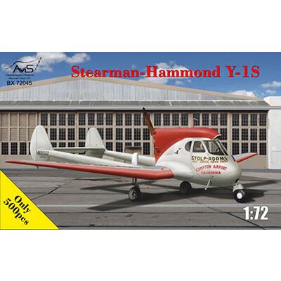 1/72 ステアマン・ファモンドY-1S軽量多用途機【AV7245】 プラモデル エイビス