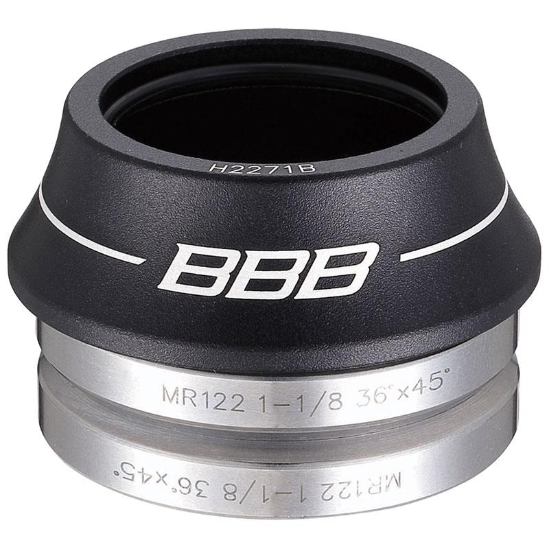 ヘッドセット BBB ヘッドセット OS 41.0MM 15MM インテグラル ロード コーン ブラック BHP-41 / 自転車 パーツ