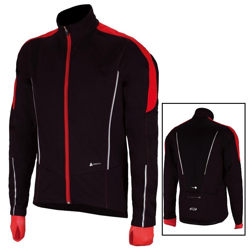 長袖ウェアー BBB ウインター コントロールシールド L メンズ ジャケット ブラック/レッド BBW-261 / サイクリング用ウェア/ 自転車 パーツ【送料無料】
