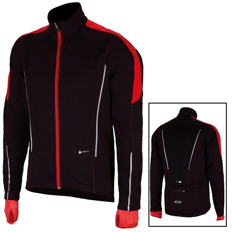 長袖ウェアー BBB ウインター コントロールシールド XL メンズ ジャケット ブラック/レッド BBW-261 / サイクリング用ウェア/ 自転車 パーツ【送料無料】