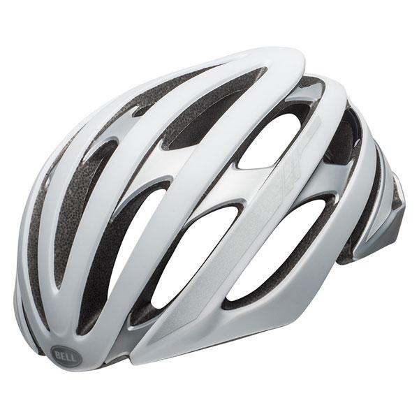 BELL STRATUS MIPS ストラータスミップス マットホワイト×シルバーリフレクティブヘルメット/ ベル 自転車 大人用ヘルメット