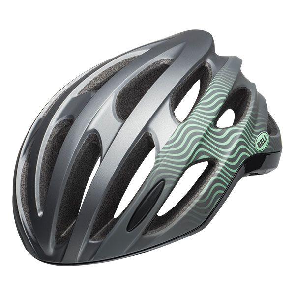 BELL FOMULA MIPS フォーミュラ ミップス グロスガンメタル×ミント×ブラック ヘルメット/ ベル 自転車 大人用ヘルメット