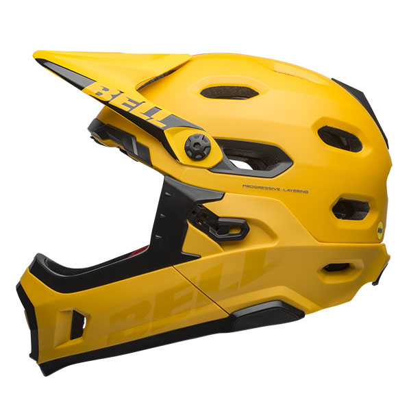 BELL SUPER DH MIPS スーパー DH ミップス イエロー×ブラック ヘルメット/ ベル 自転車 大人用ヘルメット