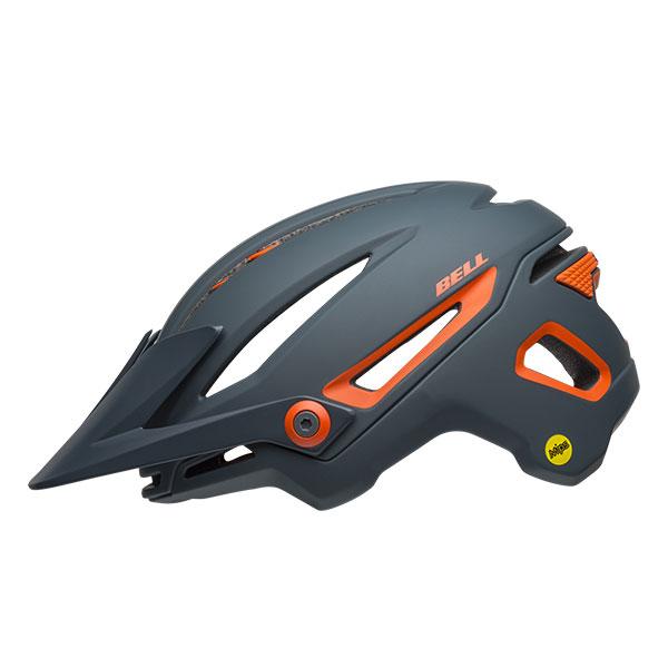 BELL SUPER SIXER MIPS シクサーミップス マットスレート×オレンジ ヘルメット/ ベル 自転車 大人用ヘルメット
