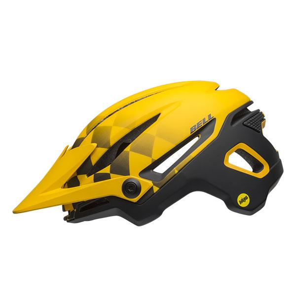 BELL SUPER SIXER MIPS シクサーミップス マットイエロー×ブラック ヘルメット/ ベル 自転車 大人用ヘルメット