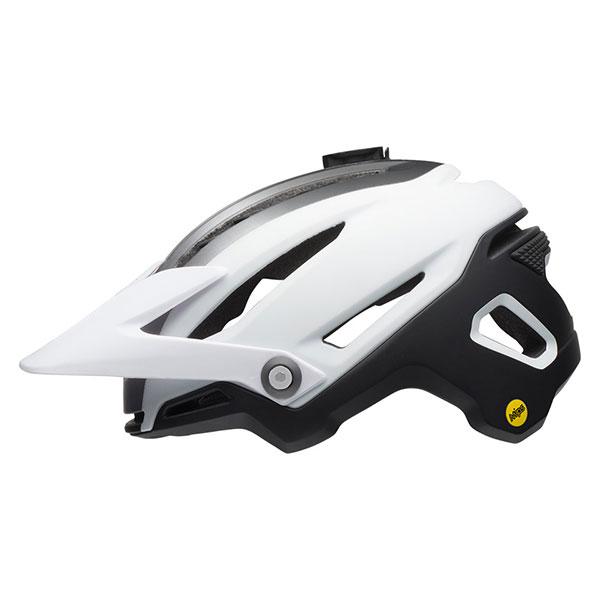 BELL SUPER SIXER MIPS シクサーミップス マットホワイト×ブラック ヘルメット/ ベル 自転車 大人用ヘルメット