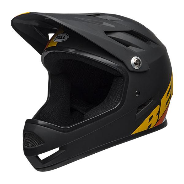 BELL SANCTION サンクション マットブラック×イエロー×オレンジ ヘルメット/ ベル 自転車 大人用ヘルメット