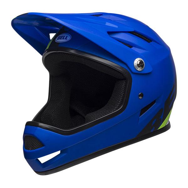BELL SANCTION サンクション マットブルー×ブライトグリーン ヘルメット/ ベル 自転車 大人用ヘルメット
