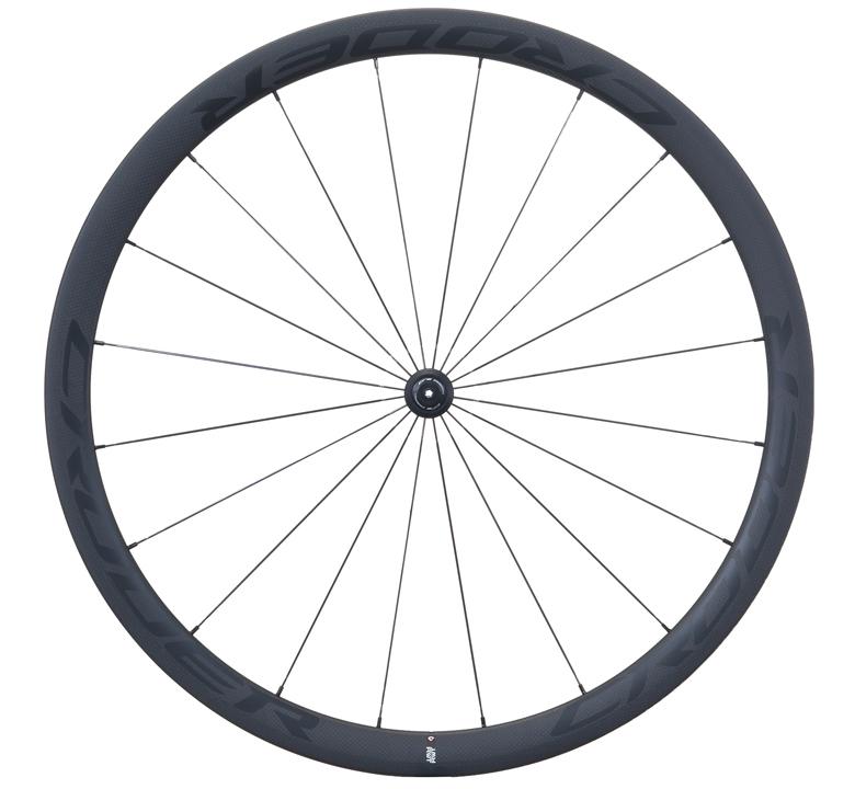 CRODER RWT38 カーボンロードチューブラーホイール ホイール前後セット/ クローダー 自転車 パーツ【送料無料