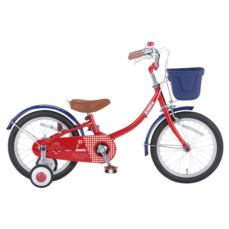 【Xmas特典付】アニー 18インチ ANI18-II/ ダイワサイクル 幼児用自転車 【小サイズ】