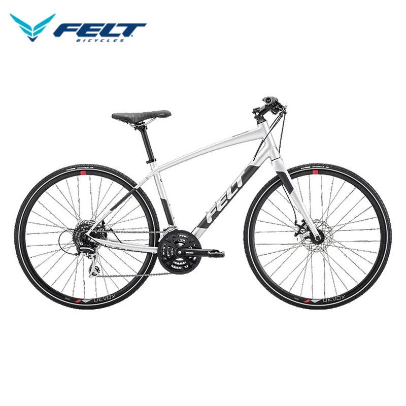 FELT ベルザスピード 40 / フェルト クロスバイク 2020年モデル グロスプラチナ 【大サイズ】