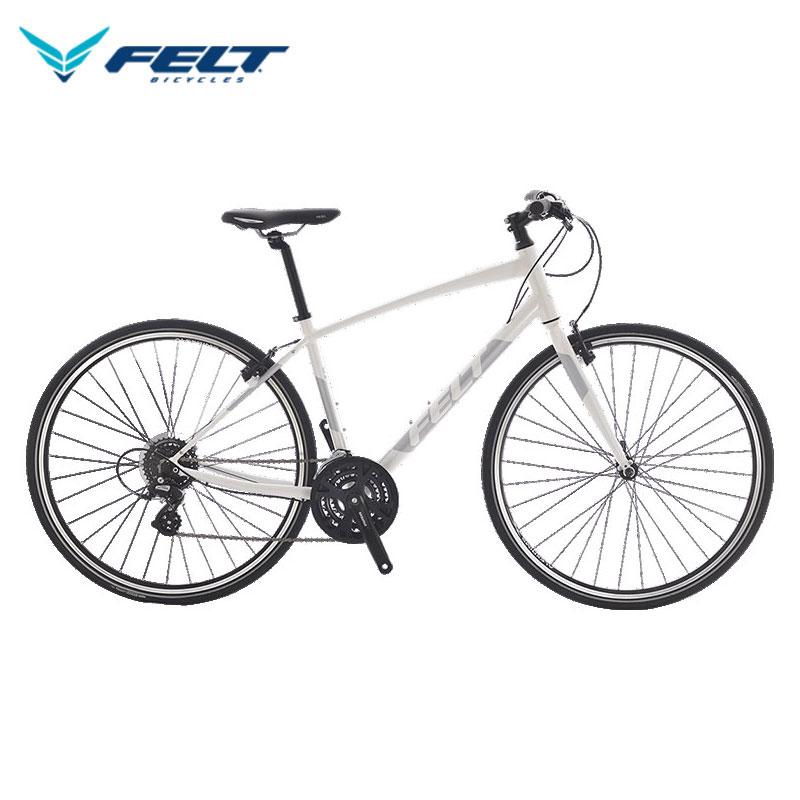 FELT ベルザスピード 50 / フェルト クロスバイク 2020年モデル グロスパールホワイト 【大サイズ】