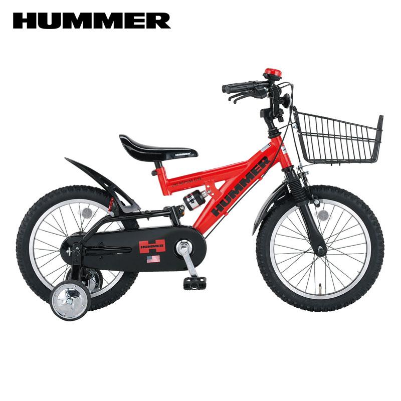 【Xmas特典付】HUMMER KIDS ハマーキッズ 16インチ 幼児車/ ハマー 自転車 HM-KID16R-DW2 【小サイズ】