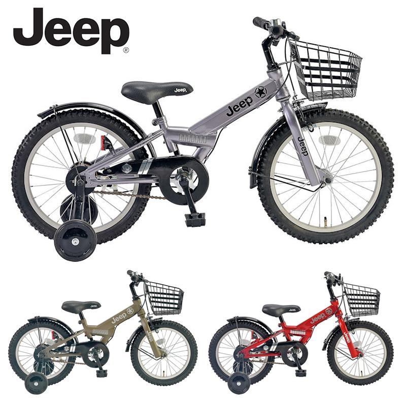 JEEP 19JE-18G 18インチ / ジープ 幼児用 子供用自転車 【小サイズ】