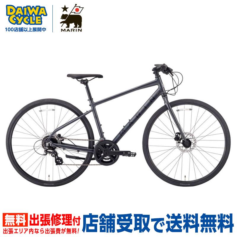 【地域限定送料無料(東京・神奈川・千葉・埼玉)】MARIN CORTE MADERA SE GLOSS.BLACK 2020年 / マリン クロスバイク 2020年モデル 【大サイズ】
