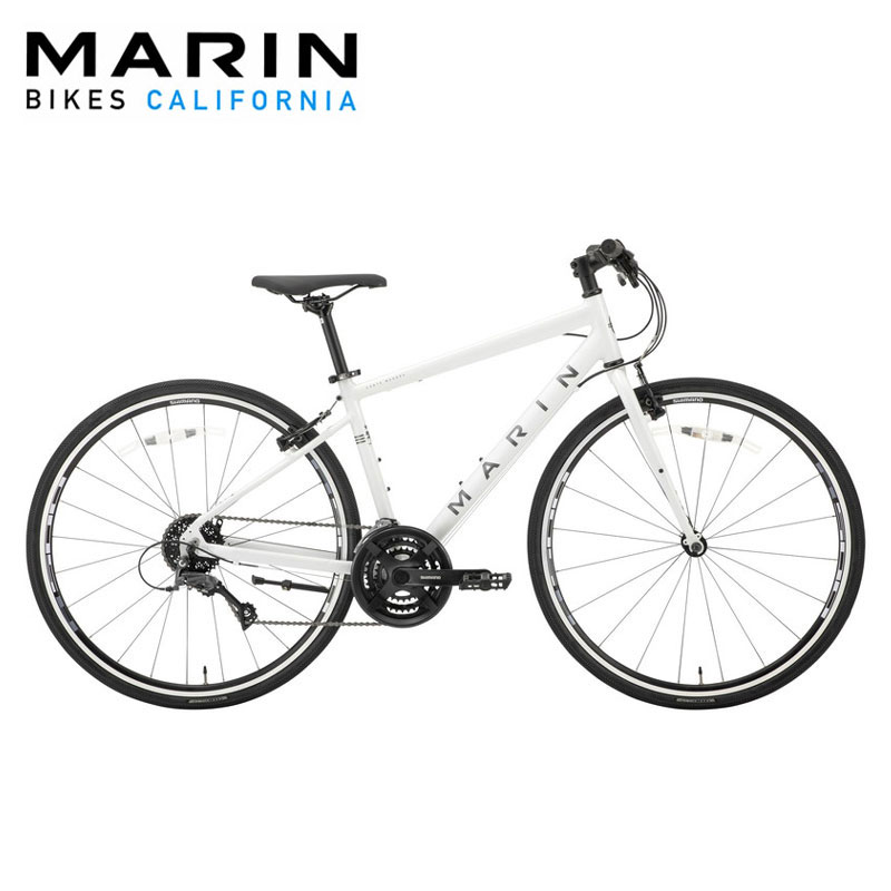 【地域限定送料無料(東京・神奈川・千葉・埼玉)】MARIN CORTE MADERA SE GLOSS.WHITE 2020年 / マリン クロスバイク 2020年モデル 【大サイズ】
