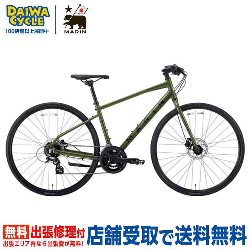 【地域限定送料無料(東京・神奈川・千葉・埼玉)】MARIN CORTE MADERA SE GLOSS.BLUE 2020年 / マリン クロスバイク 2020年モデル 【大サイズ】