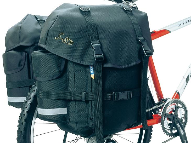 OSTRICH S-83 サイドバッグ [ペア]/ オーストリッチ 自転車 パーツ【送料無料】