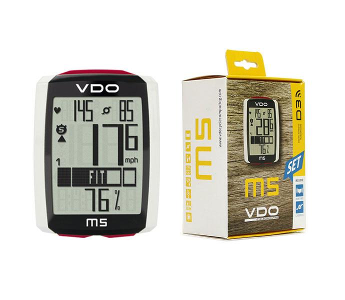 VDO ワイヤレスサイクルコンピューター M5 WL / バーディーオー サイクルコンピューター 自転車パーツ 【送料無料】[PT_UP]