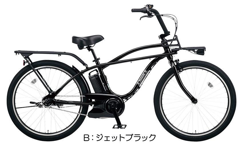 【電動アシスト自転車】【2019年モデル】【電動自転車】パナソニック BP02(ビーピーゼロツー)B:ジェットブラック