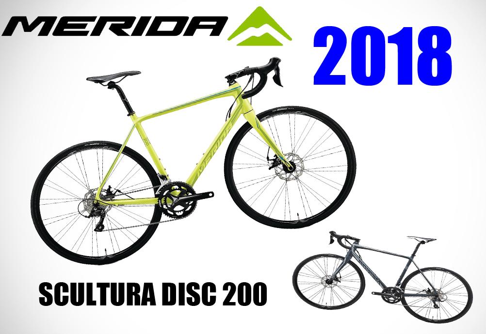 破格! 格安! 2018年モデル MERIDA(メリダ) ロードバイク SCULTURA DISC 200 LEDライト付 MERIDA SCULTURA DISC 最安値に挑戦中! 送料無料 数量限定 大特価