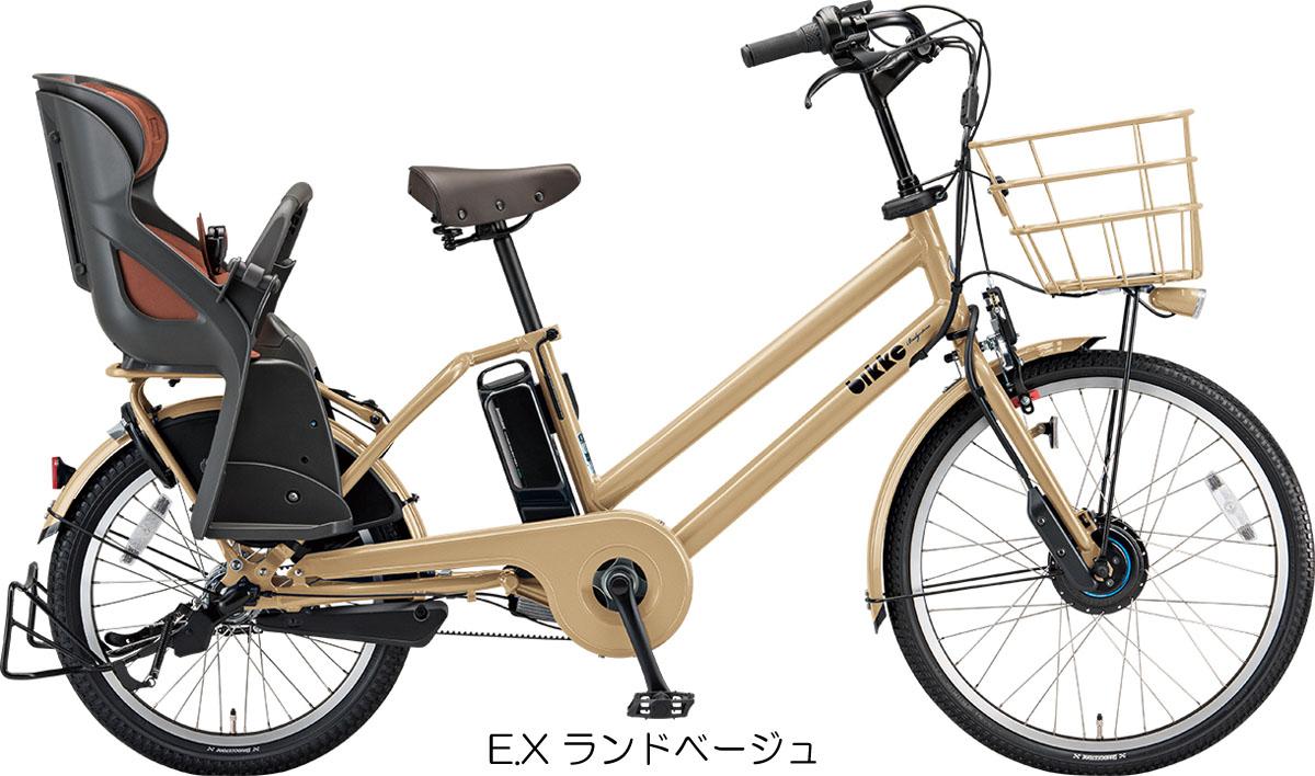 【完全組み立て済み】【2019年モデル】【3人乗り対応】【電動自転車】【ブリヂストン】bikke GRI dd(ビッケ グリ dd)