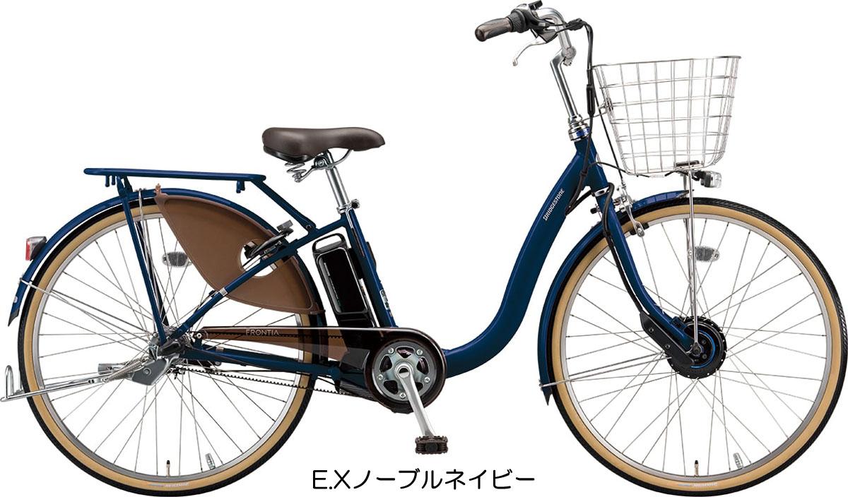 【完全組み立て済み】【2019年モデル】【ブリヂストン】【電動自転車】フロンティア デラックス