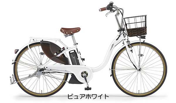 【完全組み立て済み】YAMAHA【2019年モデル】【電動自転車】YAMAHA(ヤマハ)PAS ウイズ デラックス