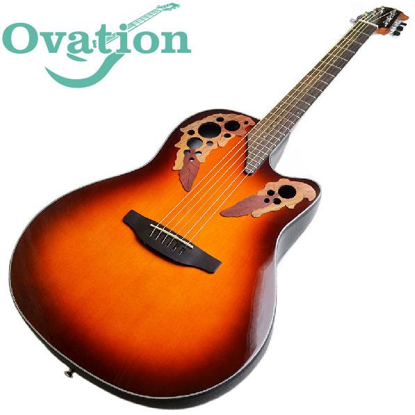 オベーション エレアコ OVATION Celebrity Elite CE44-1 Mid-Depth セレブリティ エリート エレクトリック アコースティックギター CE-44-1 サンバースト