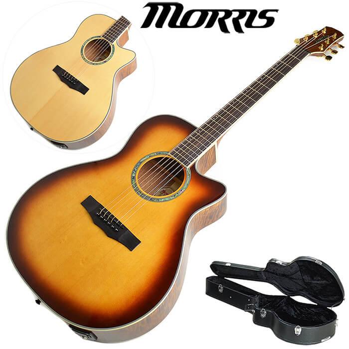 早い者勝ち アコースティックギター (ハードケース付) エレアコ モーリス R-021 Morris アコギ, RESCUE99 (RESCUE SQUAD) cdf7eea5
