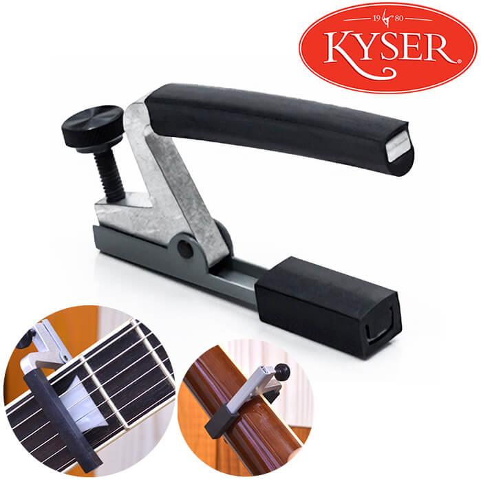 軽量アルミニウム製で小型 [宅送] 与え 軽量 スクリュー固定タイプで 弦にかける力を的確にコントロールします カポ KYSER KPA カイザー カポタスト CAPO