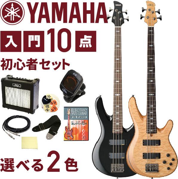 初心者セット エレキベース TRB1000シリーズ【ベース 10点 入門セット】 YAMAHA TRB1004J ヤマハ ベースセット