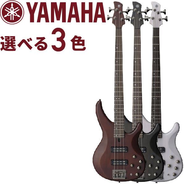 ヤマハ エレキベース YAMAHA TRBX504 アクティブ・パッシブ切り替え可能 TRBX-504