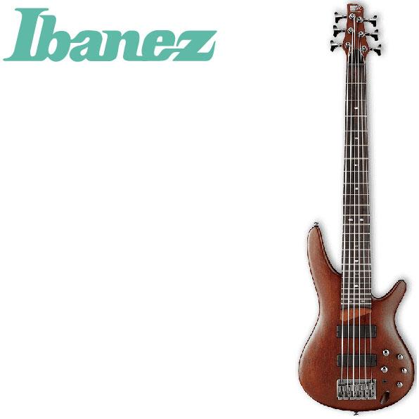 アイバニーズ 6弦モデル エレキベース Ibanez SR506 BM SR-506 ブラウンマホガニー