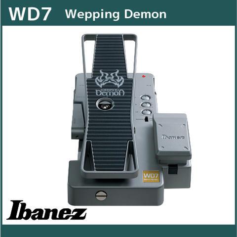 【メール便送料無料対応可】 アイバニーズ Wepping ギターエフェクター ベースエフェクター【ワウ ペダル】 Ibanez WD7 WD7 Wepping Ibanez Demon, オマエザキシ:34d7e2ef --- konecti.dominiotemporario.com