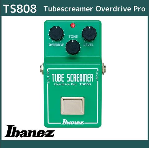 アイバニーズ ギターエフェクター 【オーバードライブ】 Ibanez TS808 Tubescreamer Overdrive Pro チューブスクリーマーオーバードライブプロ