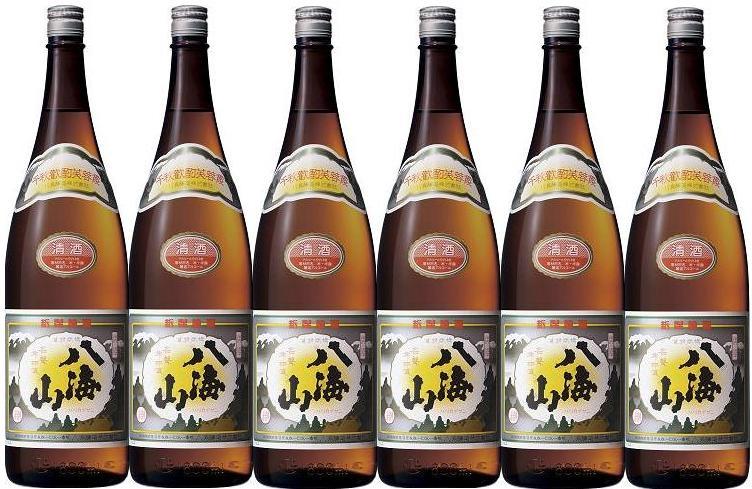 【送料無料】【八海山】清酒 1800ml 6本セット【smtb-TD】【saitama】
