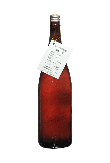 昭和63年(1988年)千葉県 岩瀬酒造 純米吟醸古酒 1800ml 要低温